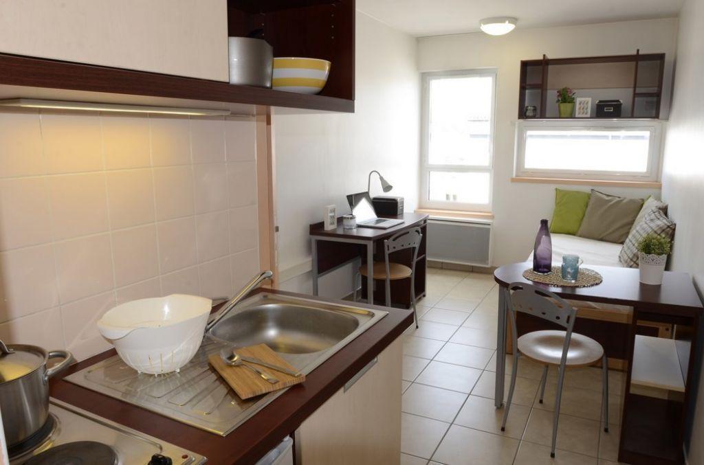 Student residence La Guillotière Lyon - Fac-Habitat